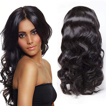 360 Lace Frontal Wig Body Wave Brazilian Virgin Hair Cap Hair Products for Natural Hair