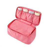 CT0150 Women Girl Travel Bra Underwear Wash Bag For Clothes Case Style