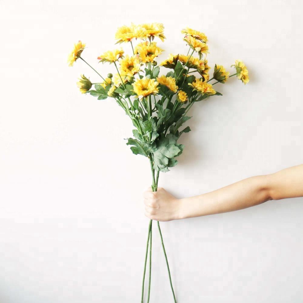 Artificial Flower Chrysanthemum Spray Artificial Flower