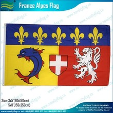 3x5ft 100D polyester France Alpes Flag