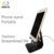 Aluminum alloy exquisite universal tablet stand holder for adjustable multiple angle