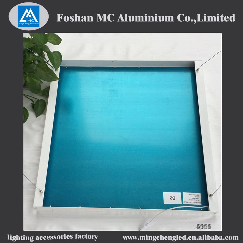 aluminium frame led panel aluminium profile for led panel lights