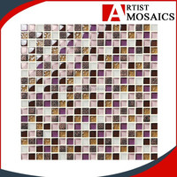 Cheap price Luxury crystal mixed color arabic mosaic
