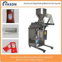 Low Cost Automatic Liquid Paste Pouch Packing/Packaging Machine Price for Water Sauce Honey 5-500ML