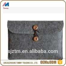 Wool felt women laptop bag made in China