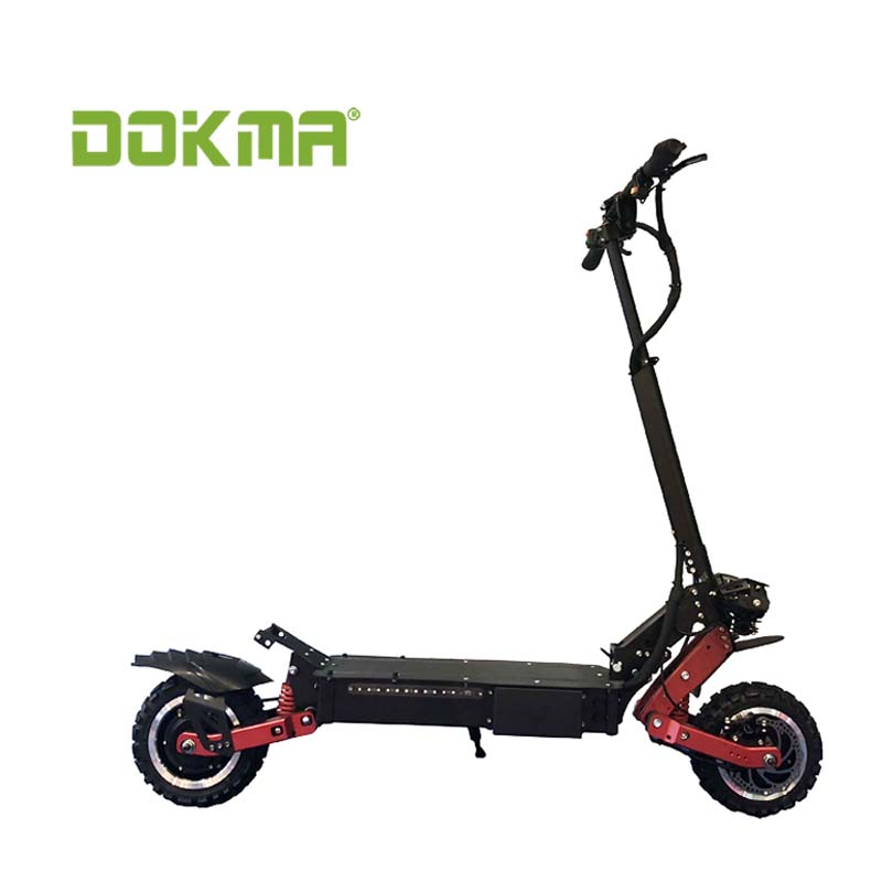 Dokma new design dual motors <strong>C</strong> Type Suspension 3200W Electric Scooter for sale