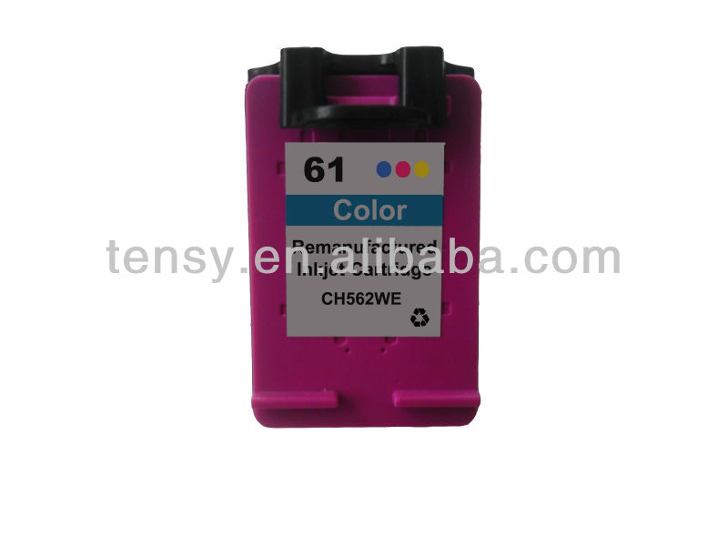 remanufactured ink cartridge for HP61 C