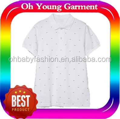 100% cotton mens polo t shrit fashion comfortable star printing polo t shirt for mens design your own polo t shirt