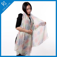 New Fashion Women's Vintage Lady Soft Long Neck Large Scarf Wrap Shawl Stole Drop Free