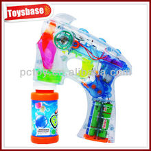 Automatic musical space bubble gun