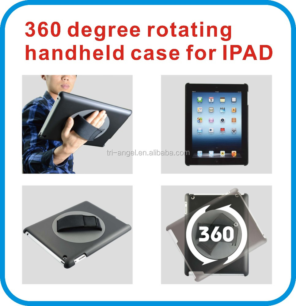 case for ipad, 360 degree rotating handheld case for ipad mini, belt clip case for ipad mini