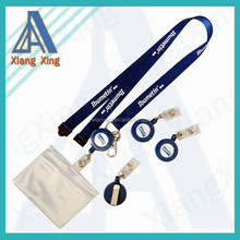 Student polyester Neck Lanyard & Badge ID Card Holder