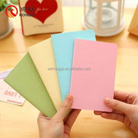 HQ013 Office supply buy cheap bulk custom notebooks,recycled paper notebooks ,mini paper notebook