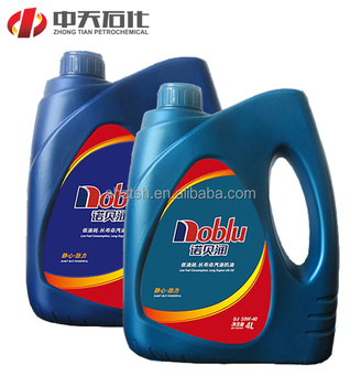 High quality base stocks and additives generator engine lube oil for car