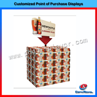 Liquor bottle display shelf provided by Chinese liquor rack display manufacturer