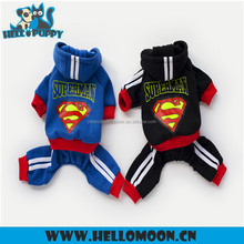 Fashion Most Popular Newest 4 Legs Superman 2 Colors Dog Clothes Wholesale