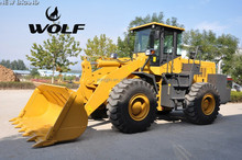 WOLF wheel loader Chinese Wheel Loader 5 ton ZL 50, WL 500