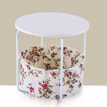 New Fashion Wooden End Table with 2 Layers Small Coffee Table