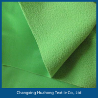 100 polyester super poly/velvet fabric