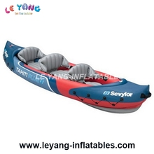 Inflatable sea kayak / water sport rowing boat pvc / inflatable boat for 3 persons