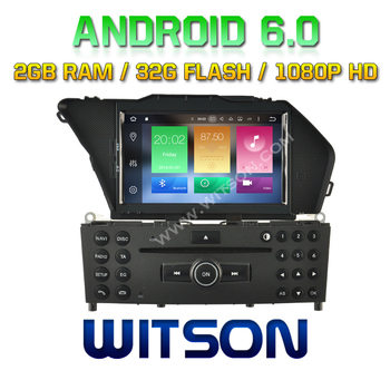 WITSON Octa-Core(Eight Core) Android 6.0 CAR DVD For MERCEDES-BENZ GLK(2008-2010)/GLK X204/GL 2G ROM 1080P TOUCH SCREEN 32GB ROM