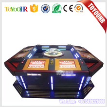 2017 Popular 6/8/12 Players Coin Operated Electronic Casino Roulette Game Software Machine for Sale