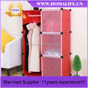 Whole Plastic Cheap wall to wall sliding wardrobe doors HMY2-3