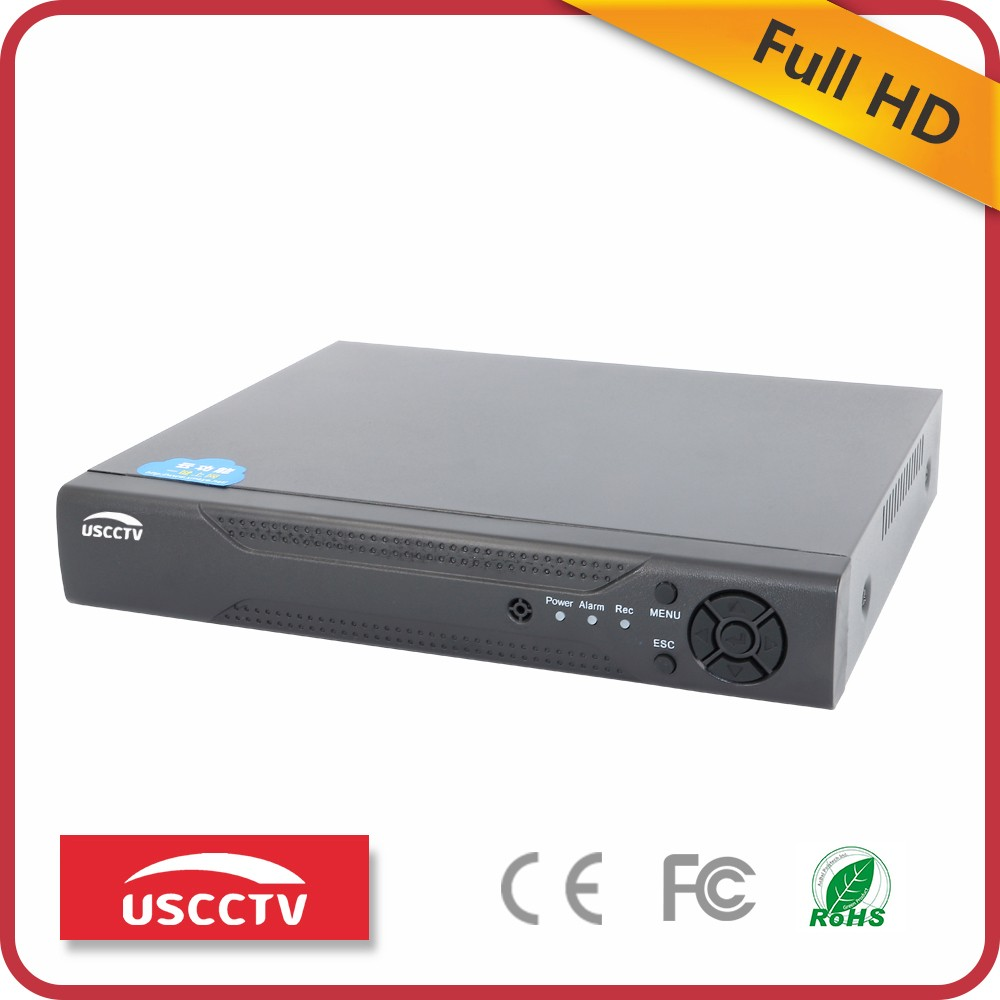 USCCTV h 264 4 ch network standalone cctv hd dvr manual 1080P AHD DVR