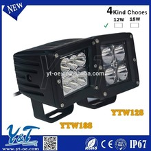 Y&T Super Bright Ground light 18W car accessories , led offroad working light for mini dirt bike 110cc us $50 4WD front light