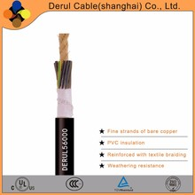 High flexible dc 3x2.5mm2 power cable