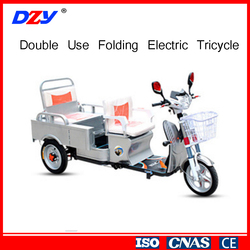 Hot Sale Standard 800 W Used Electric Tricycle For Adults