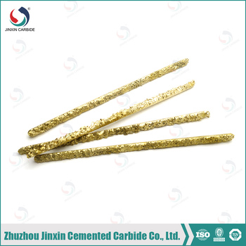 composite YD carbide welding rods used for clearing petroleum