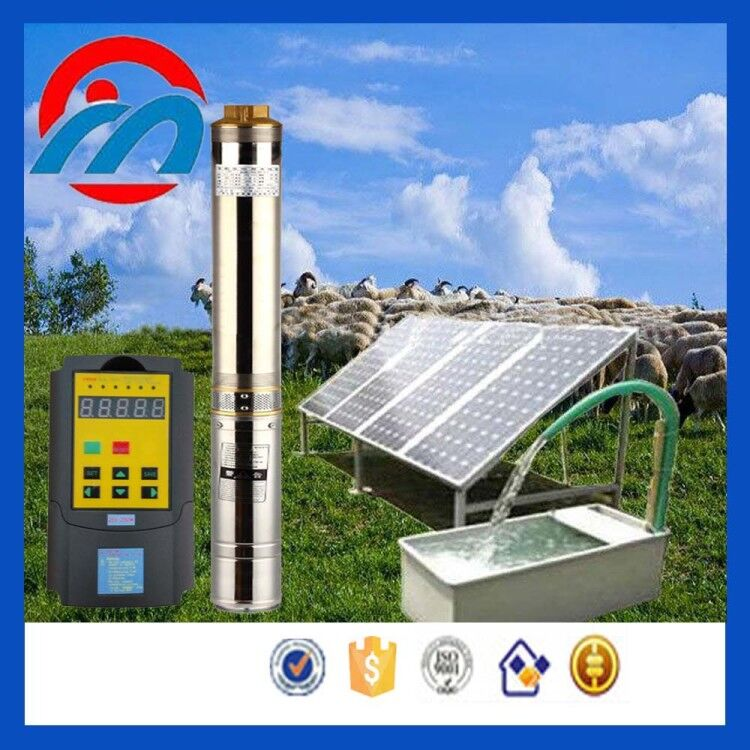48v DC Solar Powered Small Submersible Sump Pump Manufacturer Chen Ming