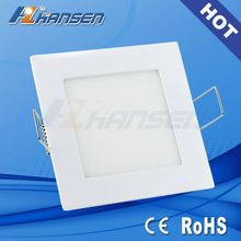 115x115mmmm led panel light, 6w led panel lamp with DLC UL CE armstrong ceiling dimmable led panel light