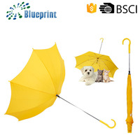 High quality Waterproof pongee fabric umbrellas for dog