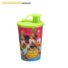 Audit Company supply 3d kids personalized plastic mugs