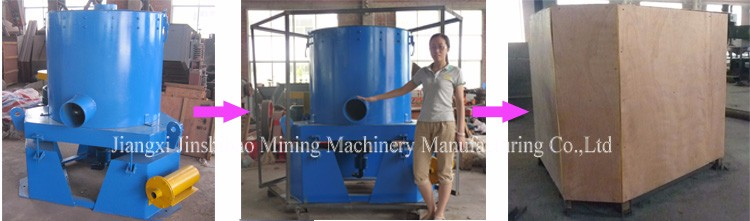 Automatic Working Gravity Separation Water Jacket Centrifugal Gold Separator