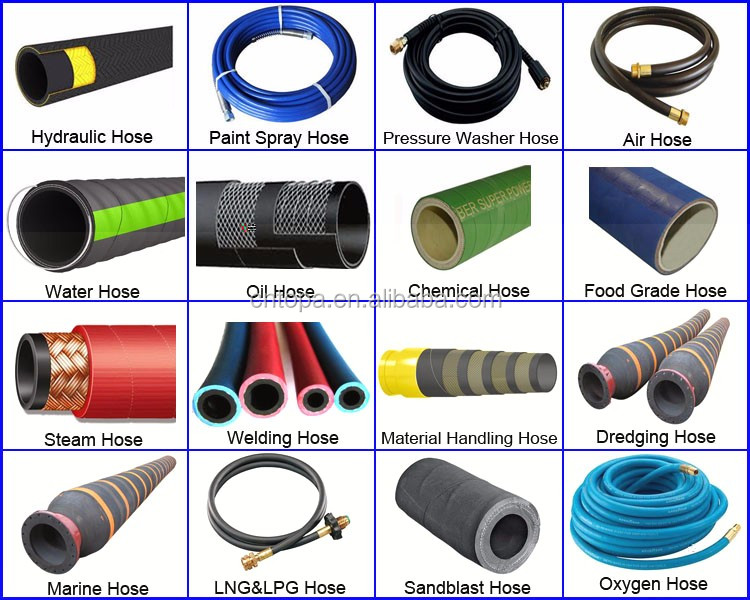 reinforced semperit hydraulic hose stocklot for Mining
