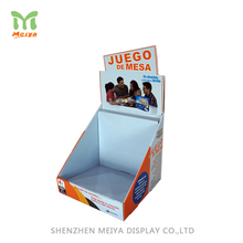 Hot Sale Paper Material Merchandise Corrugated Counter Top Display Boxes With Best Price
