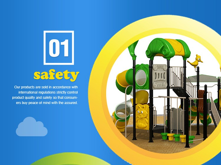 2018 China factory new Tree House series outdoor playground set