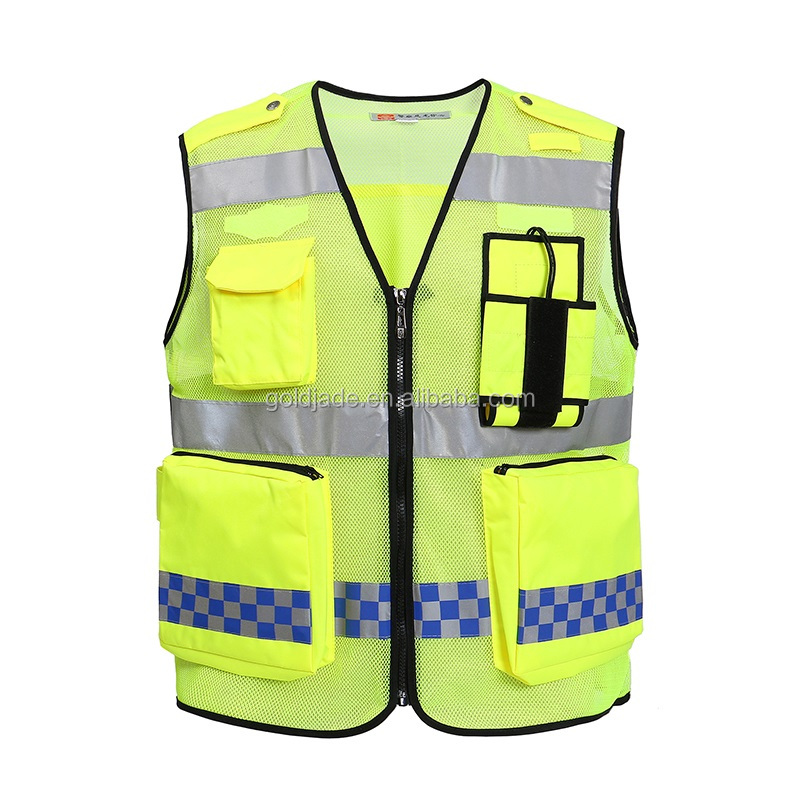 2017 customized LED plus reflective safety workwear safety apparel