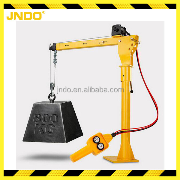 0.5 ton escort crane with wired rope