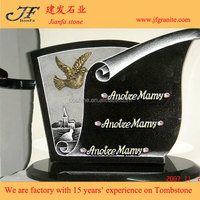 Lovely Bird Carved Granite Tombstones And Monument Design