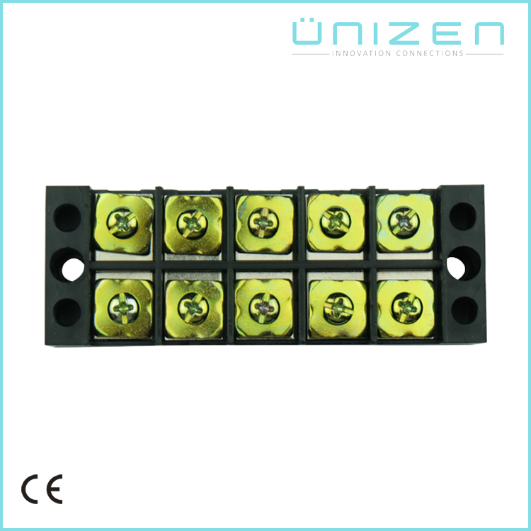 UNIZEN TB-4505L 5pin 45A big current screw terminal blocks wire connector