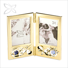 Hot Sale Sanctity Gold Plated Metal Picture Frame For Wedding