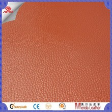 MRD3598 New design hot sale faux crocodile leather for orange sofa and furniture