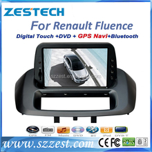 ZESTECH brand new OEM touch screen car dvd player for Renault Fluence multimedia with gps bluetooth TV tuner