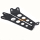 HANTU low MOQ Single or Dual Row LED Light Bar Mount Bracket Hidden roof Mounting Brackets for 4WD