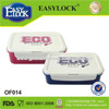 2014 new design food grade pp plastic odm lock plastic lunch box box made in China