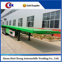 Factory Supply 3 Axles 20ft Flatbed